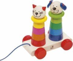 Selecta Spielzeug Selecta Trekfiguur Filino Junior 15 Cm Hout 11-delig