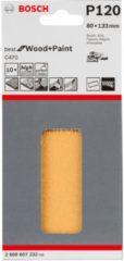 Milwaukee Bosch C470 Schleifblatt, 10er-Pack für Schwingschleifer 2608607232