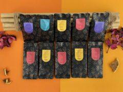 Moments Tea Box Large; Vruchten thee - 10 smaken - losse thee - ±6 kopjes per smaak