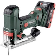 Metabo STA 18 LTX 100 18V Li-ion accu decoupeerzaag set (2x 4.0Ah accu) in Metaloc - variabel