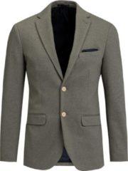 Groene WE Fashion Heren slim fit blazer, Jorritt - Maat XL (54)
