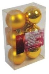 Goudkleurige Kerstballen - Quality4All