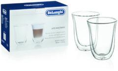 Transparante DeLonghi Delo Latte Macch-GlazenThermoglas 2er