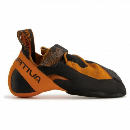 Afbeelding van La Sportiva - Python - Klimschoenen maat 39, zwart/oranje/bruin