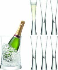 Transparante LSA International L.S.A. Moya Drinken Champagne Serveerset - 6 stuks