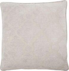 Licht-grijze House Doctor sierkussenhoes Wail (50x50 cm)