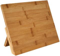 Donkerbruine Gusta® Gusta Acacia Tablet & Kookboekstandaard Assortiment 'Het Gemak'