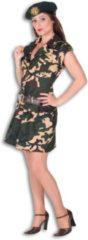 Creme witte Fashion4fun Army Lady-40