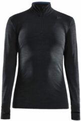 Zwarte Craft Fuseknit Comfort Zip Women