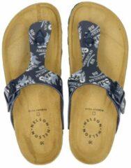 Nelson Kids Nelson jongens slipper - Blauw - Maat 34