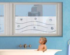 PPS. Imaging Fensterfolie - Sichtschutzfolie No.BP12 la Mer - Milchglasfolie - Milchglasfolie