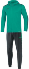 Turquoise Jako Trainingspak polyester met kap striker 2.0 m9419-24