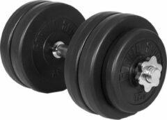 Gorilla Sports Dumbellset 30 kg Kunststof