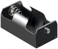Goobay 11450 Batterijhouder 1 D (mono) Drukknopaansluiting (l x b x h) 69 x 37 x 27.5 mm