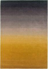 Eazy Living Easy Living - Ombre-Runner-mustard Vloerkleed - 200x290 cm - Rechthoekig - Laagpolig Tapijt - Modern, Retro - Geel, Taupe