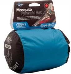 Transparante Sea to Summit Mosquito Net Muggennet - klamboe - enkel - 245g