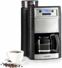 Rode Klarstein Aromatica II Duo koffiezetapparaat geïntegreerd maalwerk 1,25L zwart
