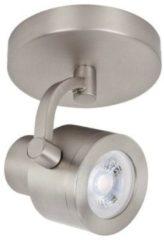 Roestvrijstalen LT-Luce Highlight Spot Alto Mat Staal 1 lichts LED