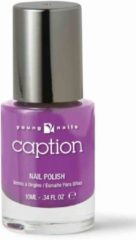 Paarse Young Nails - Caption Caption Nagellak 084 - Enough Already - 10ml