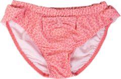 Petit Crabe UV werend Bikinibroekje Meisjes Bloemen - Roze - Maat 98-104