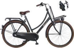 28 Zoll Popal Daily Dutch Basic+ 2800 Damen Holland Fahrrad 3... matt-schwarz, 50cm