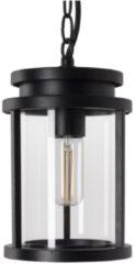 Selected by Sydney hanglamp aan ketting aluminium/glas zwart