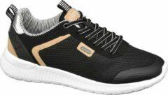 Esprit Dames Zwarte sneaker metallic - Maat 36
