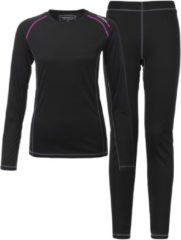 Tenson Mabel Thermoset Sportshirt - Maat 36 - Vrouwen - zwart/roze