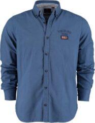 Marineblauwe New Zealand Auckland Heren Overhemd Maat XXL