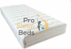 Witte Pro Sleep Beds - Milano SG-35 Matras - 300 Laags Pocket 7-Zones - 160x200 - 25cm