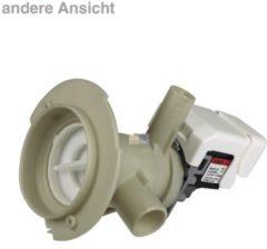 Ablaufpumpe mit Pumpenstutzen und Filter Waschmaschine 480111104693
