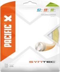 Naturelkleurige Pacific Syntec - Tennissnaren - 1.33mm/ 12.20m - Naturel