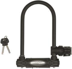 Zwarte Master Lock U-slot met schakels 11 cm staal 8195EURDPRO