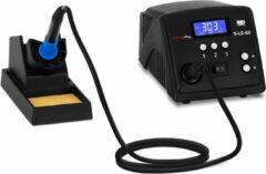 Stamos Soldering Soldeerstation - digitaal - met soldeerbout en houder - 100 W - LCD