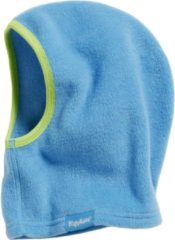 Playshoes - Kid's Fleece-Schlupfmütze - Muts maat One Size, blauw/turkoois