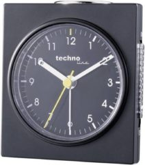 Techno Line Model Q schwarz Wekker Quartz Zwart (mat) Alarmtijden: 1