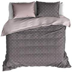 Paarse De Witte Lietaer Primrose - Dekbedovertrek - Lits-jumeaux - 240x200/220 cm + 2 kussenslopen 60x70 cm - Violet Ice