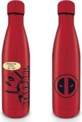 Marvel Deadpool Peek A Boo Metal Drink Bottle