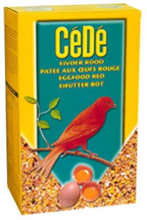 Afbeelding van Rode Cédé Cede Eivoer - Rood - 1000 Gr - Vogelvoer