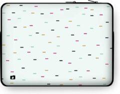"""DuckZip Laptophoes 15 inch – Macbook Sleeve 15"""" - Geometric N°10"""