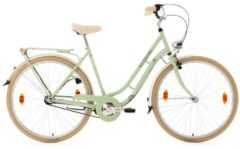 Cityrad, Damen, KS Cycling, »Casino«, grün, 28 Zoll 3 Gang Shimano Nexus, Rücktrittbremse