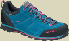 Mammut Wall Guide Low GTX Women Damen Zustiegsschuh Größe UK 5,5 dark pacific-light carmine