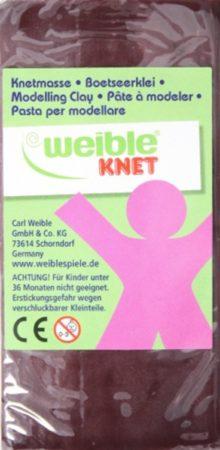 Afbeelding van Engelhart Weible Knet Fantasie Klei Blokvorm Bruin - 250 Gram