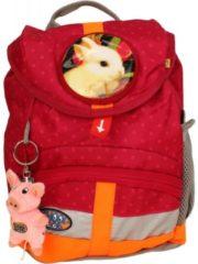 School-Mood Kiddy Kindergartenrucksack Hase School-Mood 02651 berry dots