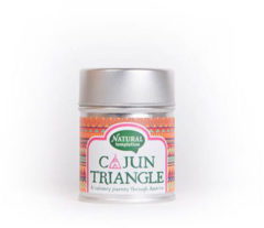 Nat Temptation Cajun Triangle Blikje Natural Spices (50g)