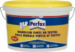 Transparante Perfax Wandlijm Vinyl/Textiel - 5 kg