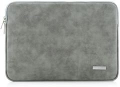 CanvasArtisan Canvas artisan laptop sleeve tot 15.4 inch – Grijs