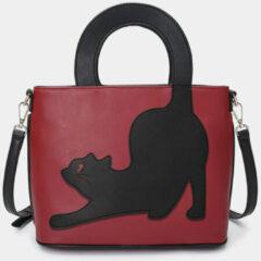 Rode Brenice Cat Pattern Handbag
