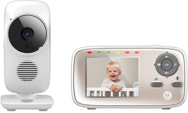 Afbeelding van Witte Motorola MBP-662 CONNECT Babymonitor wifi