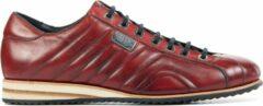 Rode Harris Mannen Leren Sneakers - 0894 - 44